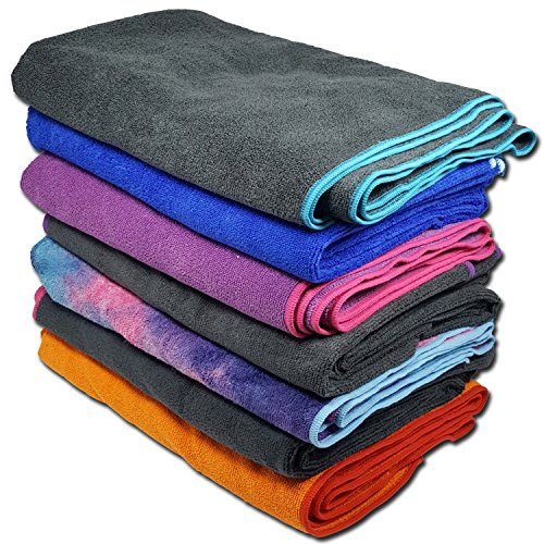 Yoga Mate Soft, Sweat Absorbent, Non-Slip Bikram Yoga Mat