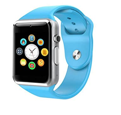 Générique Montre Connecté Smartwatch A1 Montre Telephone Watch Bluetooth (Bleu): Amazon.fr: Montres