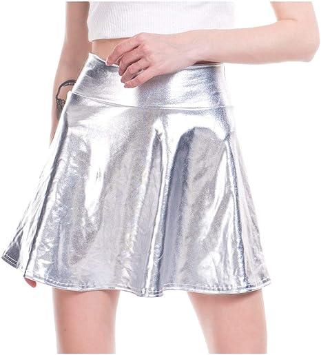 DDSCB Falda Corta para Mujer,Faldas De Mujer Sexy Mini Short ...
