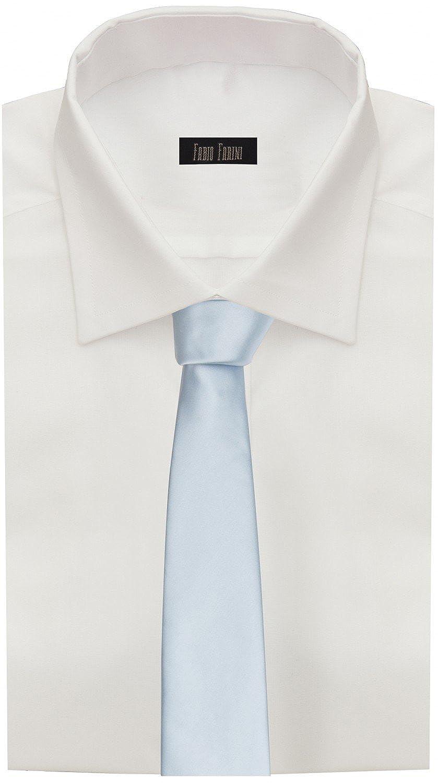 Corbata de Fabio Farini en azul claro: Amazon.es: Ropa y accesorios