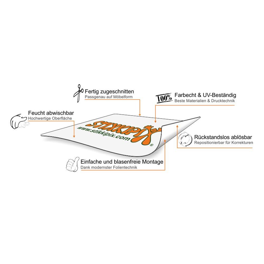 Stikkipix Kreidefolie//Tafelfolie 90 x 50 cm KF11 M/öbel Nicht Inklusive passend f/ür die Kinderzimmer Banktruhe STUVA von IKEA - Optimal ALS bemalbare Spielzeugkiste und Sitzbank geeignet