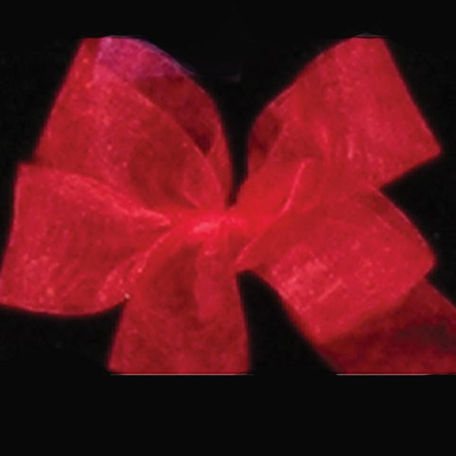Red Plain Organdy Craft Ribbon 4'' x 55 Yards by The Ribbon People