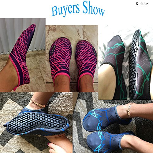 Water House Kitleler Shoes Multifunctional Beach Gray Slippers Run Dive Aqua For blue Swim Quick Shoes Barefoot Socks Women Dry Surf Men EqqCdxt