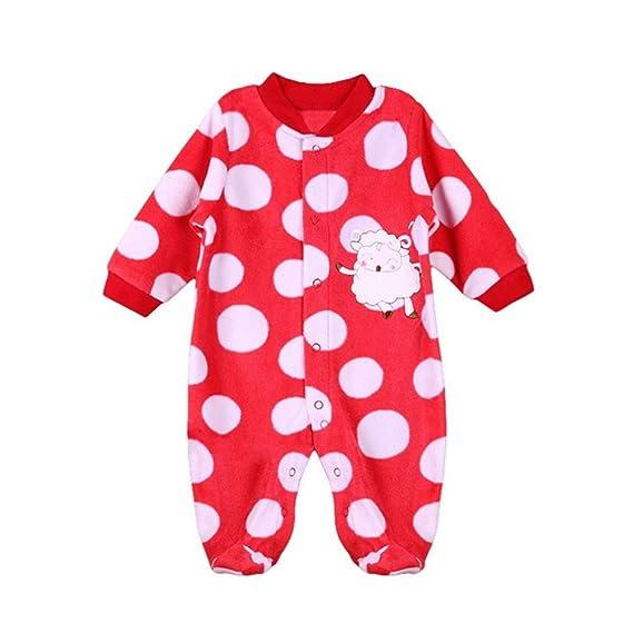 Logobeing Ropa de Mono, Recién Nacido Pijama Bebés Algodón Mameluco Niñas Niños Peleles Sleepsuit Caricatura