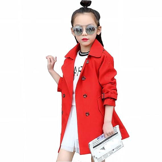 1ef47c618f43e 春衣装 子供コート スプリングコート キッズコート 春トレンチコート ガールズ アウター 春 子供服