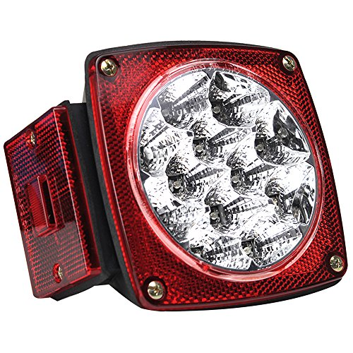 - Pilot Automotive NV-5081 Red LED Submersible Trailer Light