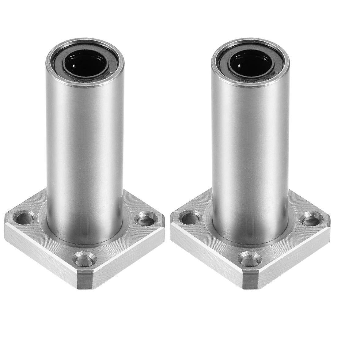 lang 8mm Linear Bearing CNC 3D Drucker Flanschlager LMK8LUU Linearlager