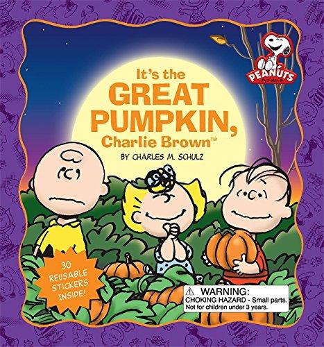 It's the Great Pumpkin, Charlie Brown (Peanuts (Running (Cartoon Pumpkin Ideas)