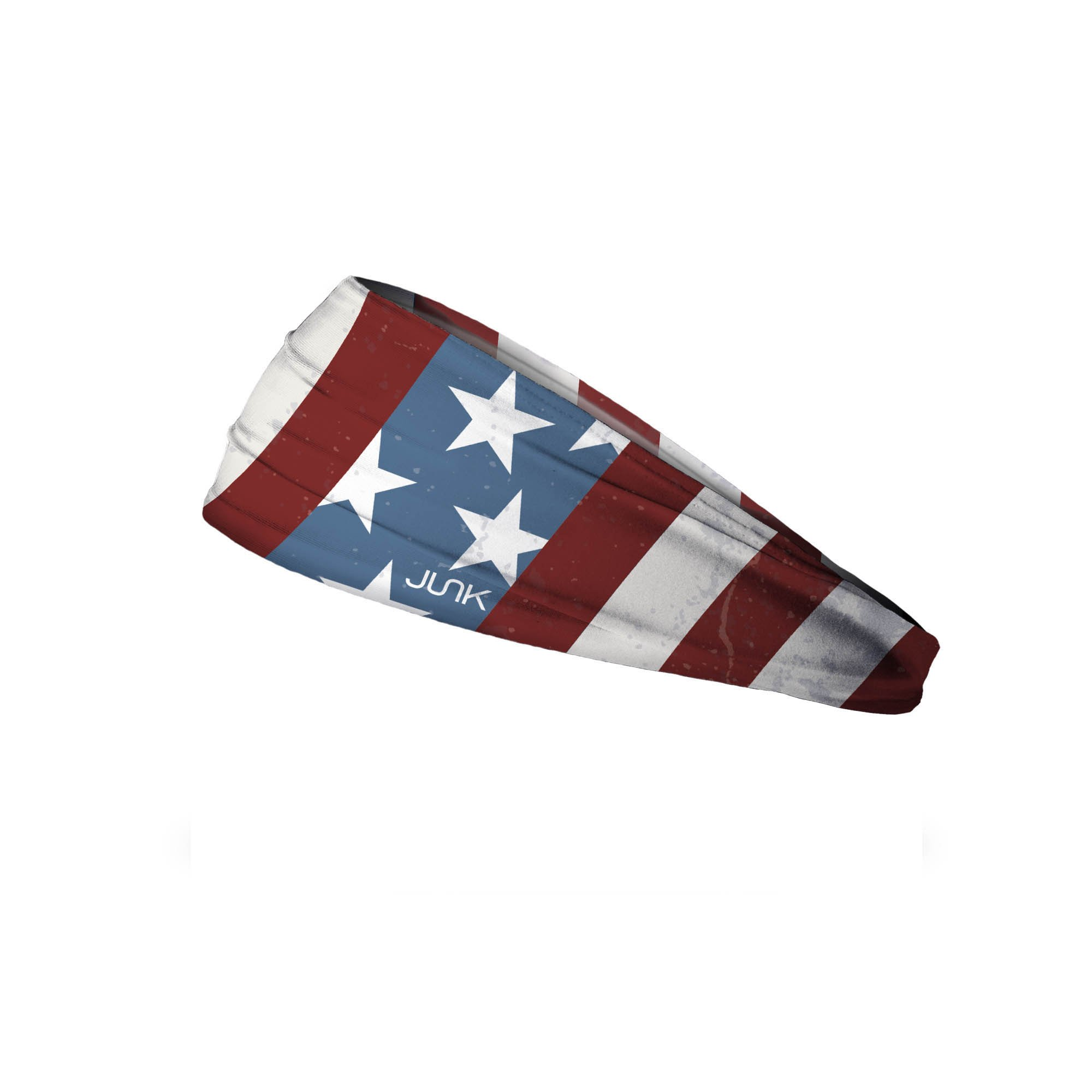 JUNK Brands Continental Big Bang Lite Headband, Red/White/Blue, One Size