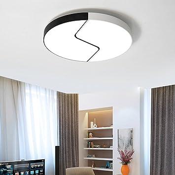 Lámpara de Techo Redonda de la Lámpara Del Dormitorio ...