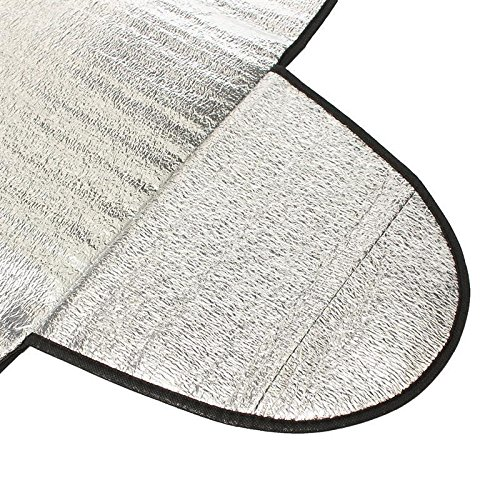 Schattenspender Schnee Eis Schutz vor Frost UV-Schutz f/ür Fahrzeuge Warmwei/ß Nider Smart Kfz-Windschutzscheiben-Abdeckung