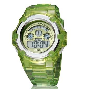 HWCOO AD1105 Deportes al aire libre de los hombres Reloj electrónico impermeable Reloj electrónico LED (