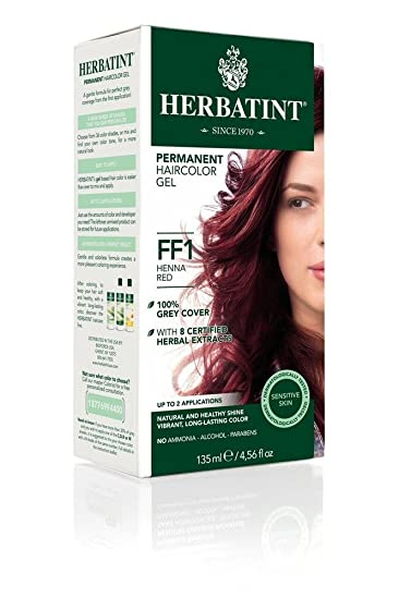 Herbatint, Hair Color Flash Henna Red, 4.56 Fl Oz
