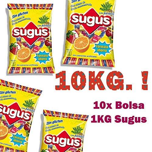 Sugus MEGAPACK de 10Kg de Caramelos Sugus Masticables de ...