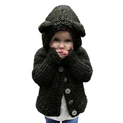 97a97f52df3fc Amazon.com  Hemlock Girl s Winter Warm Jacket