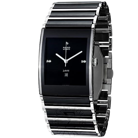Rado hombre r20852702 integral pantalla analógica Swiss – Reloj automático negro por Rado