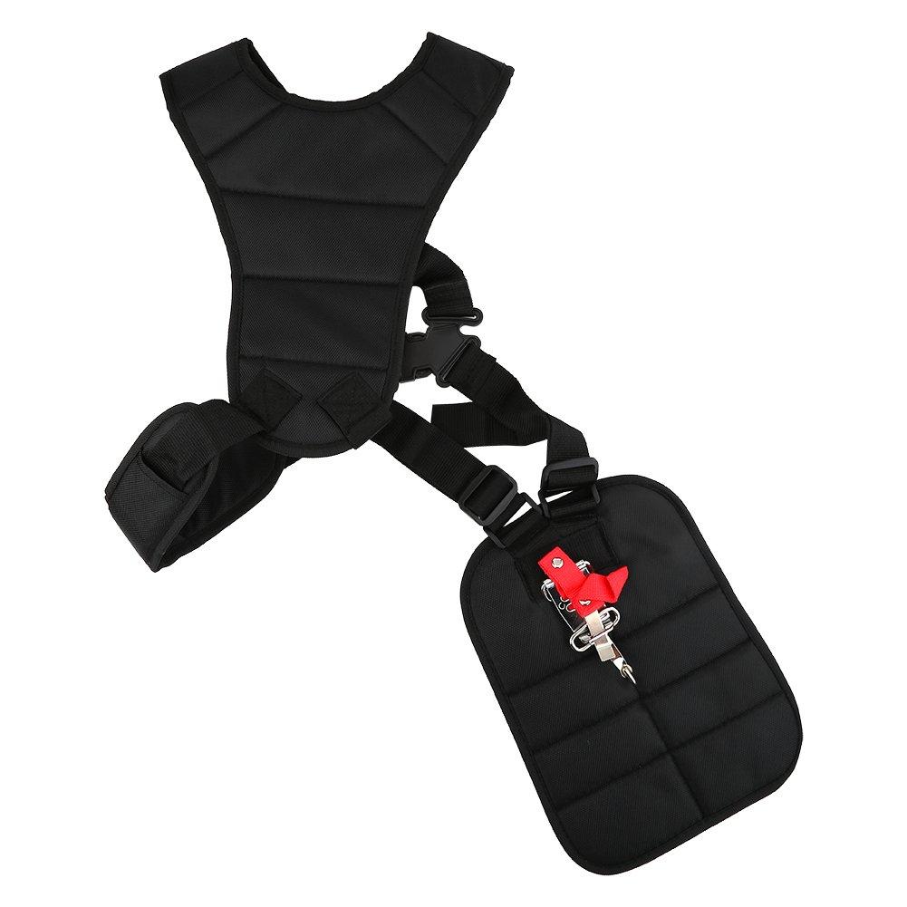 Asixx Strimmer Strap, Adjustable Lawn Mower Shoulder Strap Harness for Brush Cutter Strimmer