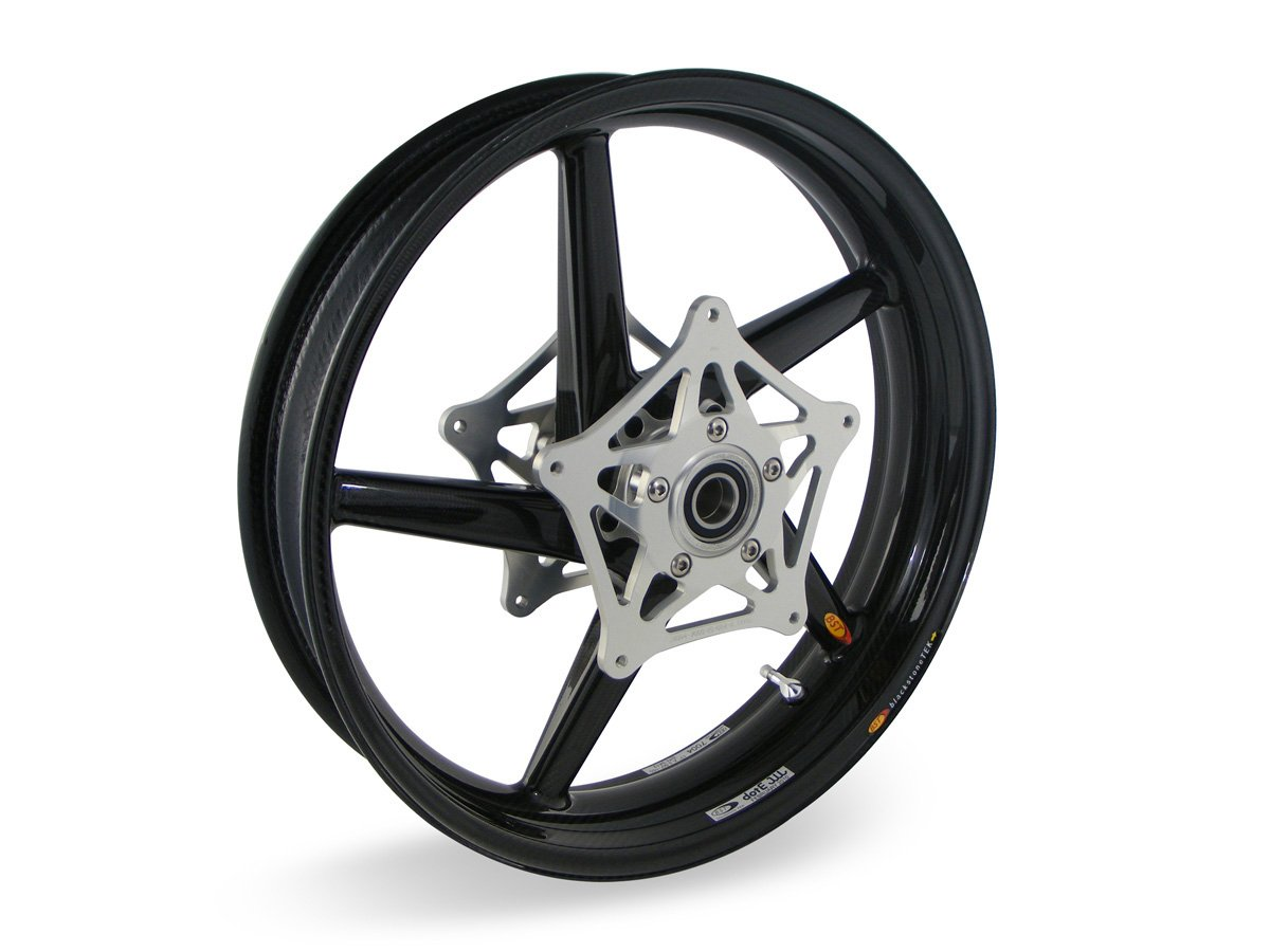 BST Carbon Fiber Front Motorcycle Wheel(BMW S1000RR/R 2010-2017)