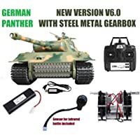 MODELTRONIC Tanque Radio Control German Panther Escala 1/16