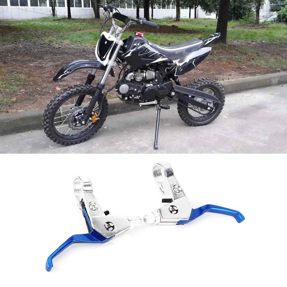 mini moto in lega di alluminio blu Manubrio freno per moto 47cc 49cc Gorgeri Leve leva freno