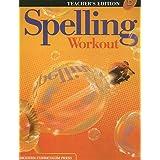 Spelling Workout: Level D, Teacher's Edition