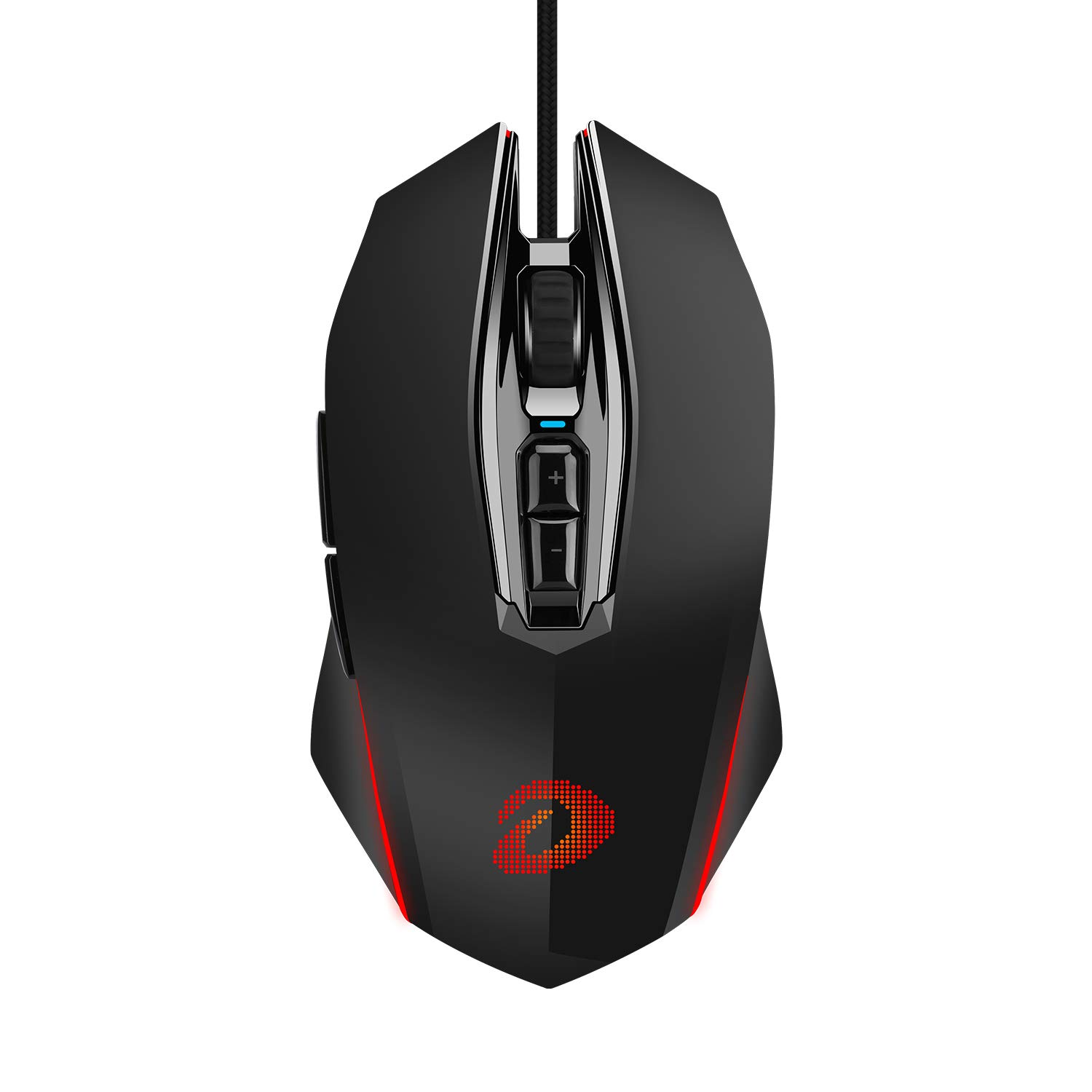 Mouse Gamer : DAREU Optico Con cable 10000 DPI 7 Program. Bo