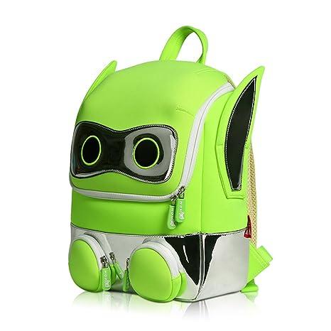 Robot d personalizzato zaino dei cartoni animati per bambini