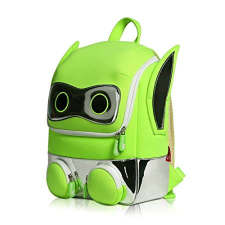 ef3f7f0a4165 Robot 3D Personalised Cartoon Backpack Kids