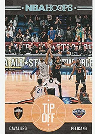 8303eb9f702 Amazon.com: 2017-18 Panini Hoops Tip-Off #7 Anthony Davis/LeBron James Cleveland  Cavaliers/New Orleans Pelicans Basketball Card: Collectibles & Fine Art