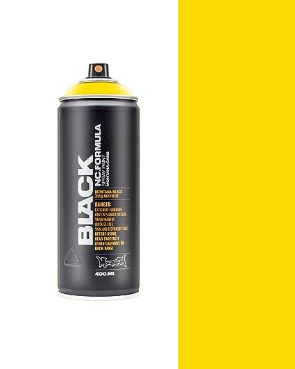 Spray color amarillo Montana BLK P1000 Power Yellow 400ml
