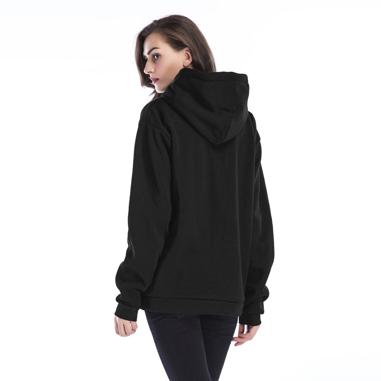 MTSCE Womens Sweatshirts Winter Warm Loose Pullover Fleece Hoodies