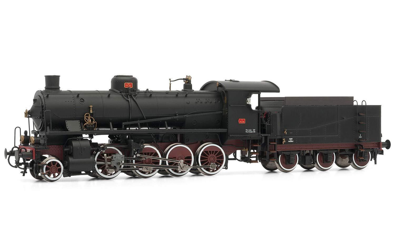 Rivarossi HR2383 Model Steam Motor GR 740 306 with Tender 3 Axles FS Digital Sound