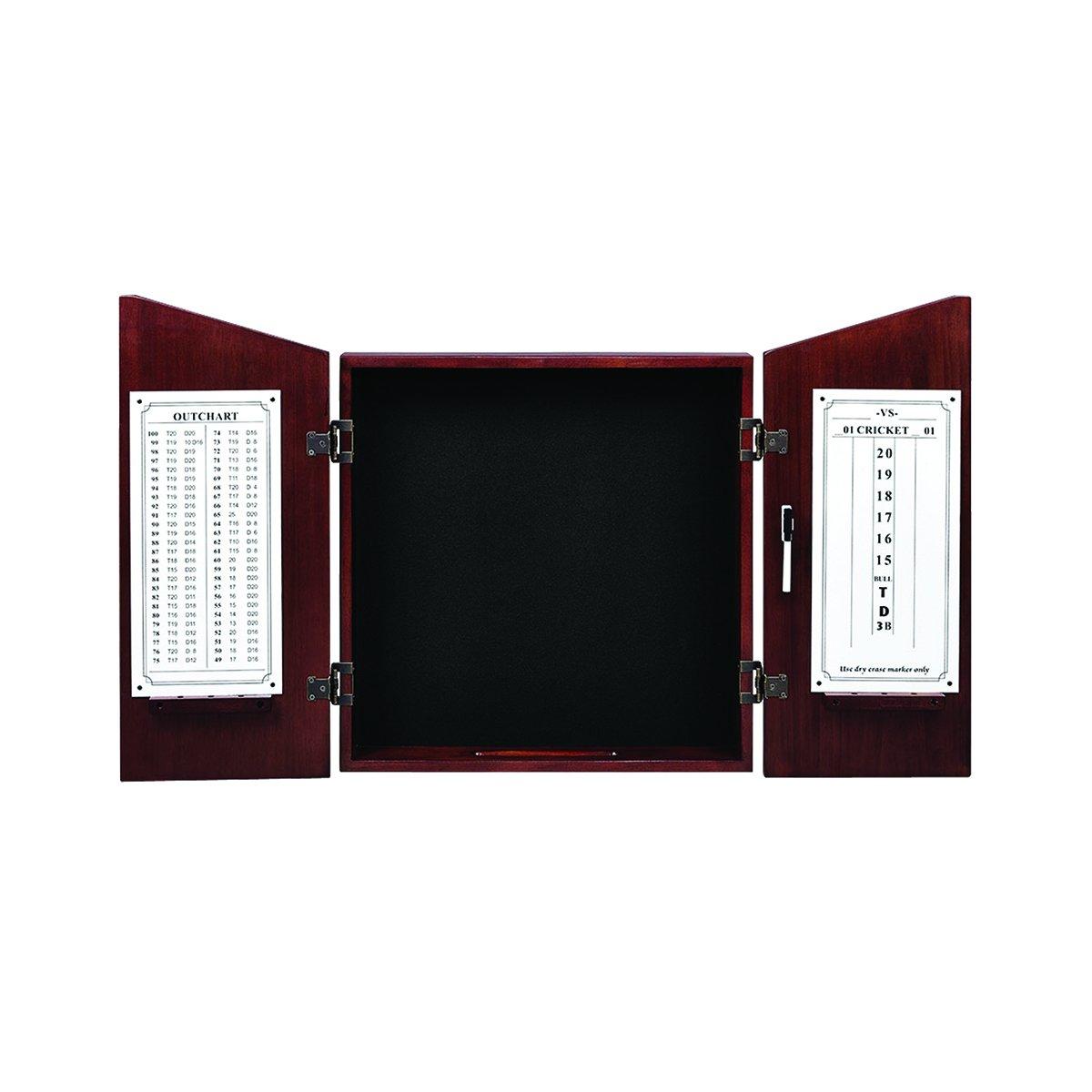RAM Gameroom Dartboard Cabinet - English Tudor