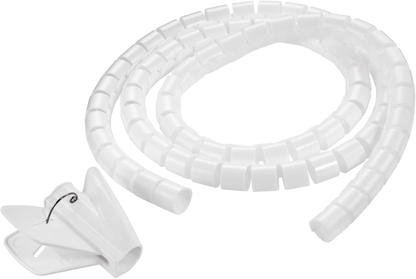 Câble spirale Spiralband Câble Tuyau Câble Protection 2,5 km Noir 01919//2,5 m