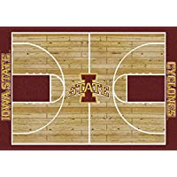 Iowa State Cyclones NCAA College Home Court Team Area Rugs