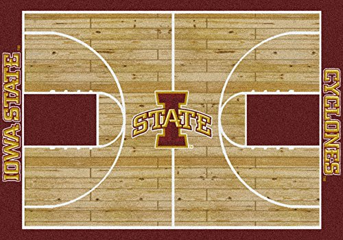 - American Floor Mats Iowa State Cyclones NCAA College Home Court Team Area Rug 3'10