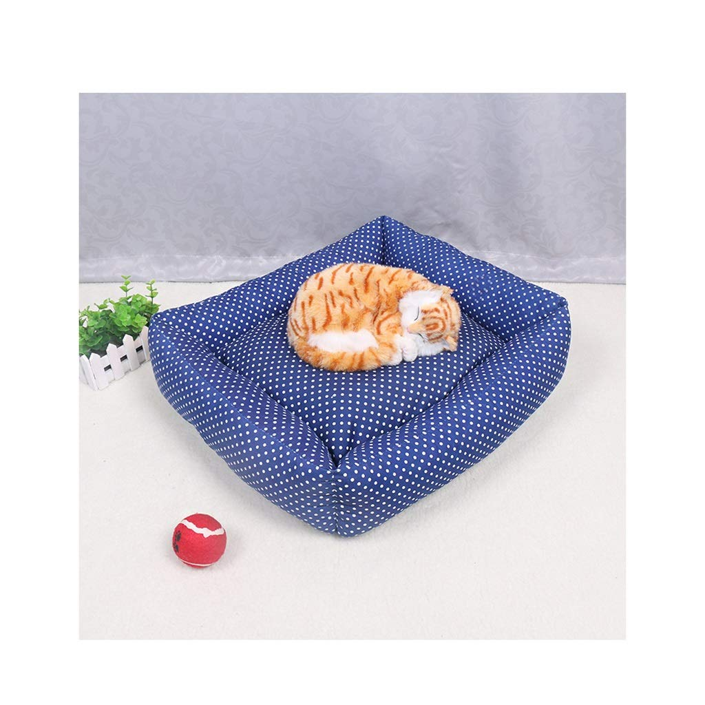 50cm42cm16cm DSADDSD Pet House Kennel Cat Litter Four Seasons Universal Comfortable And Soft Small Dog Pet Supplies (Size   50cm42cm16cm)