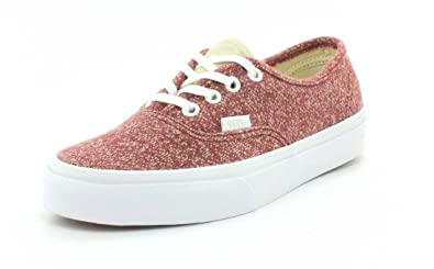 1edf5bf661a Vans Unisex J S Authentic Tibetan Red True White Sneaker - 4.5