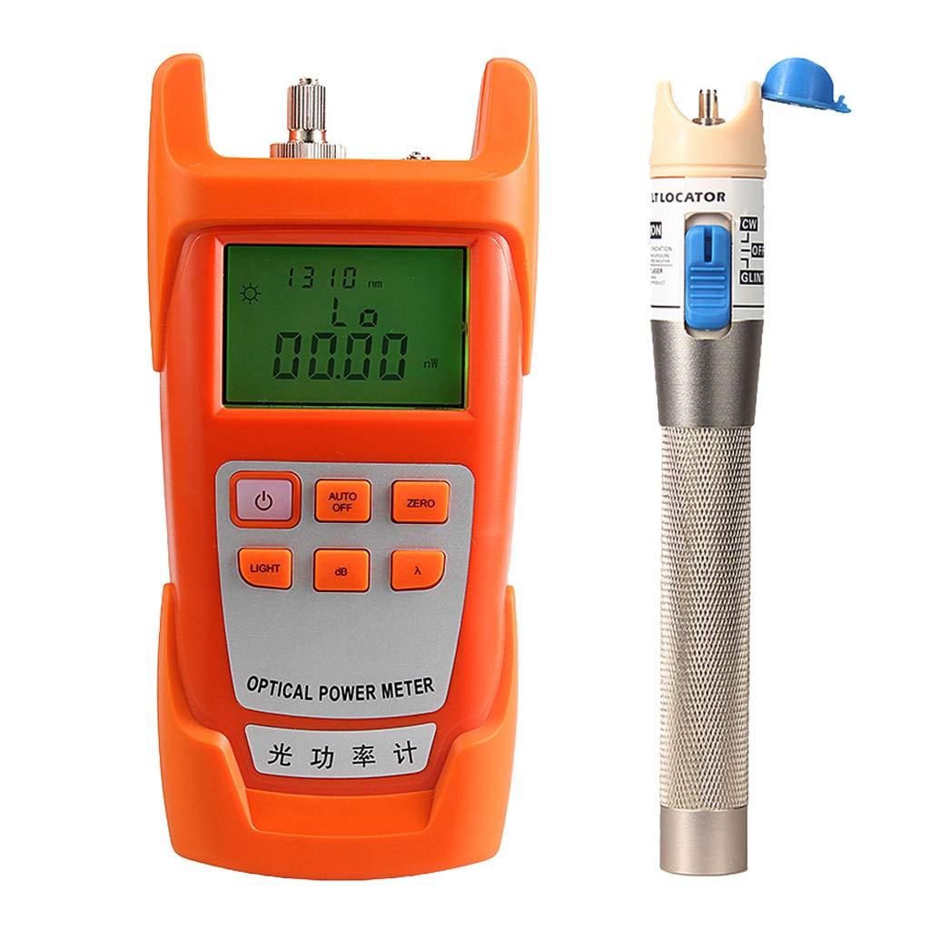 SM SunniMix 1Set -70dBm~+10dBm 850~1625nm Optical Power Meter Tester FC SC Handheld Optical Power Meter + 1mW Visual Fault Locator Pen by SM SunniMix (Image #4)
