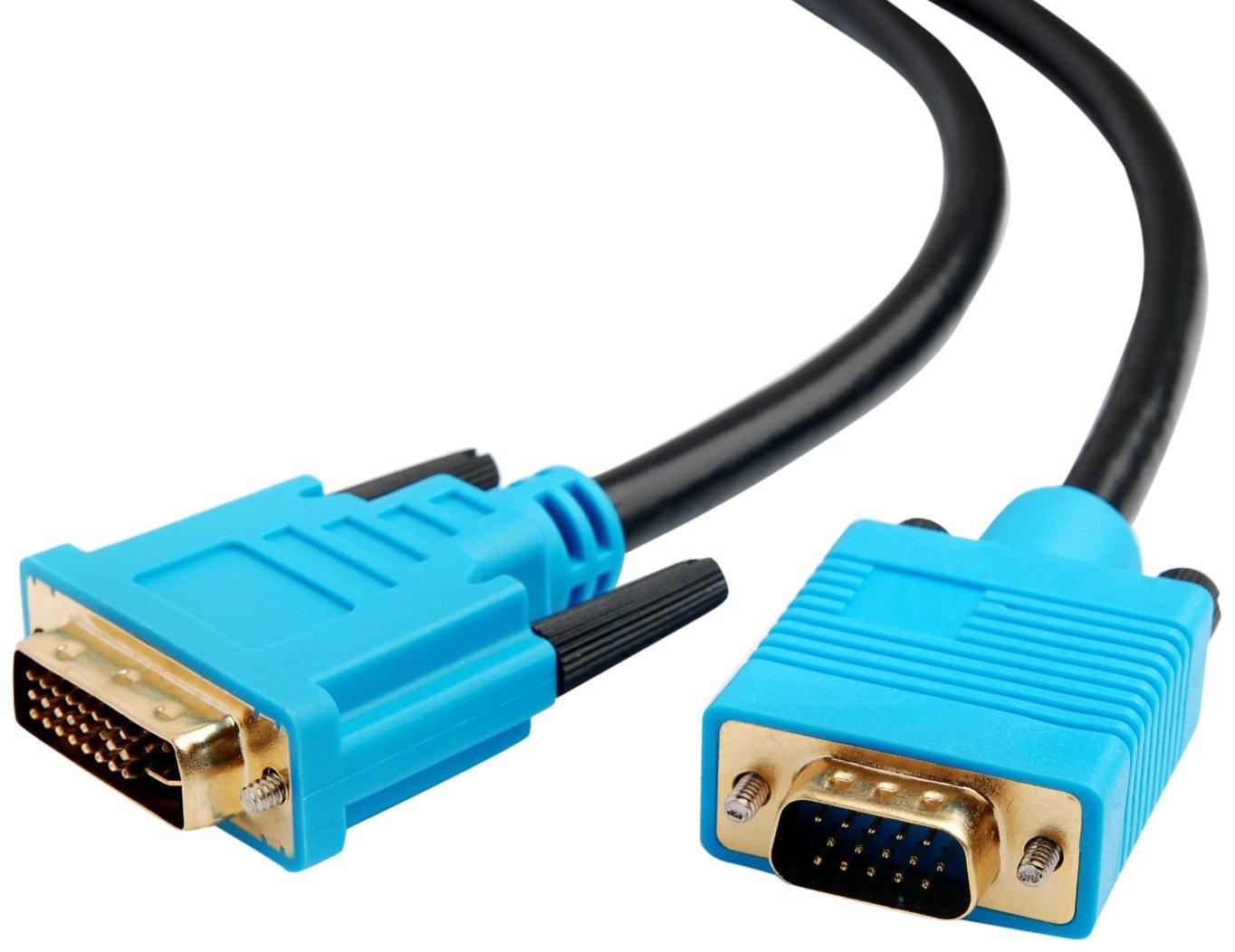 DVI-I to VGA Monitor Cable (2 Metre) CPO®