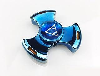 Colorful Triangolo Dito Dito Gyro Gyro Gyro Di Decompressione Ad Alta Velocità Punta Delle Dita Colorate,Blue Qin tao factory