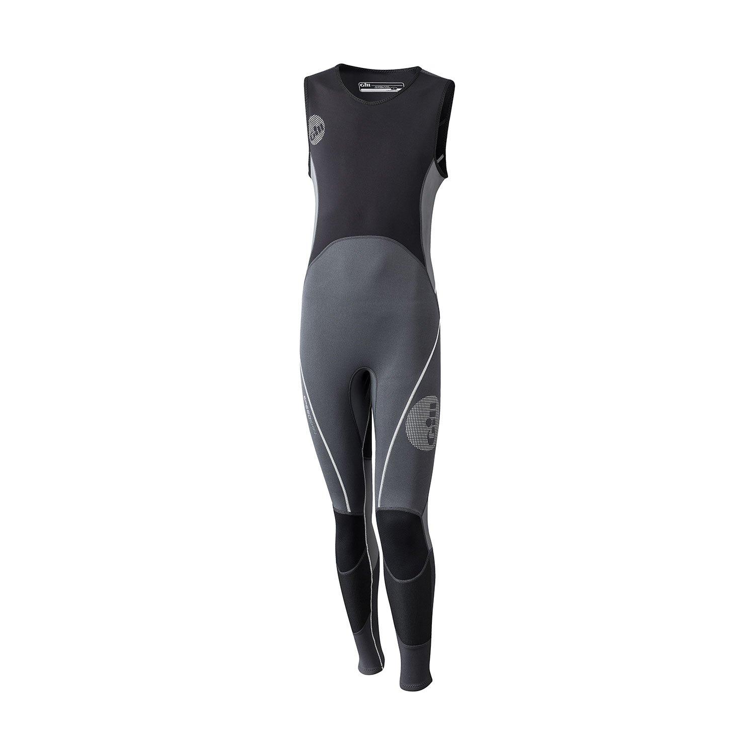 GILL Speedskin 2MM Skiff Suit Graphite Ash - Lightweight - Easy Stretch UV Sun Protection and SPF Properties