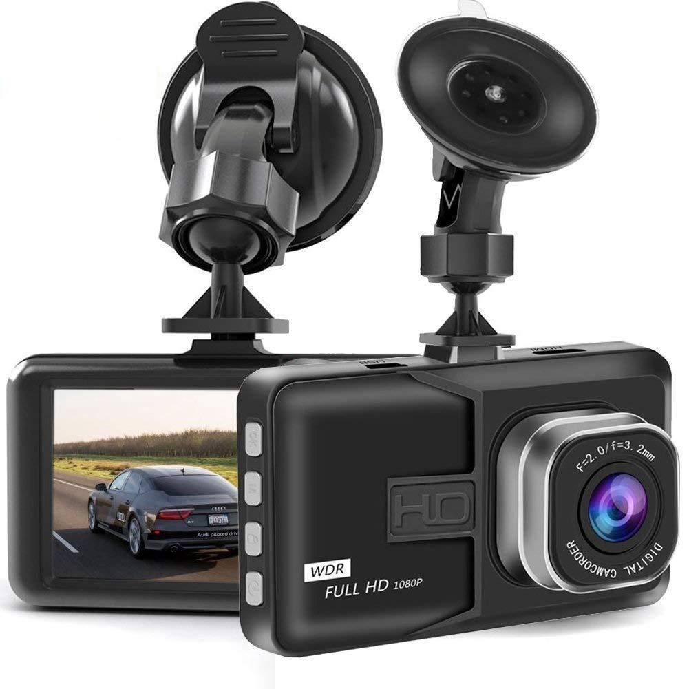 Youbegou Dash Cam, Dash Camera for Cars with Full HD 1080P 170 Degree Super Wide Angle Cameras, 3.0' TFT Display, G-Sensor, Night Vision, WDR, Loop Recording 3.0 TFT Display