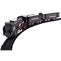 HRK Battery Operated Train Set with Light (13 Pieces)