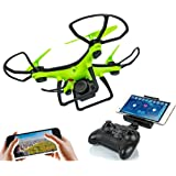 SUPER TOY Wi Fi Camera Drone Quad-Copter Flying Toy