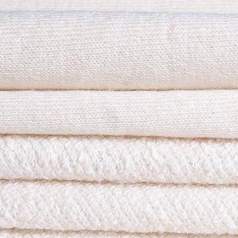 Eco orgánico de cáñamo algodón francés Terry tela: Amazon.es: Juguetes y juegos
