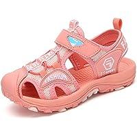 Sandals Boys Summer Outdoor Beach Closed Toe Non-Slip Sports Sandals Girls Kids