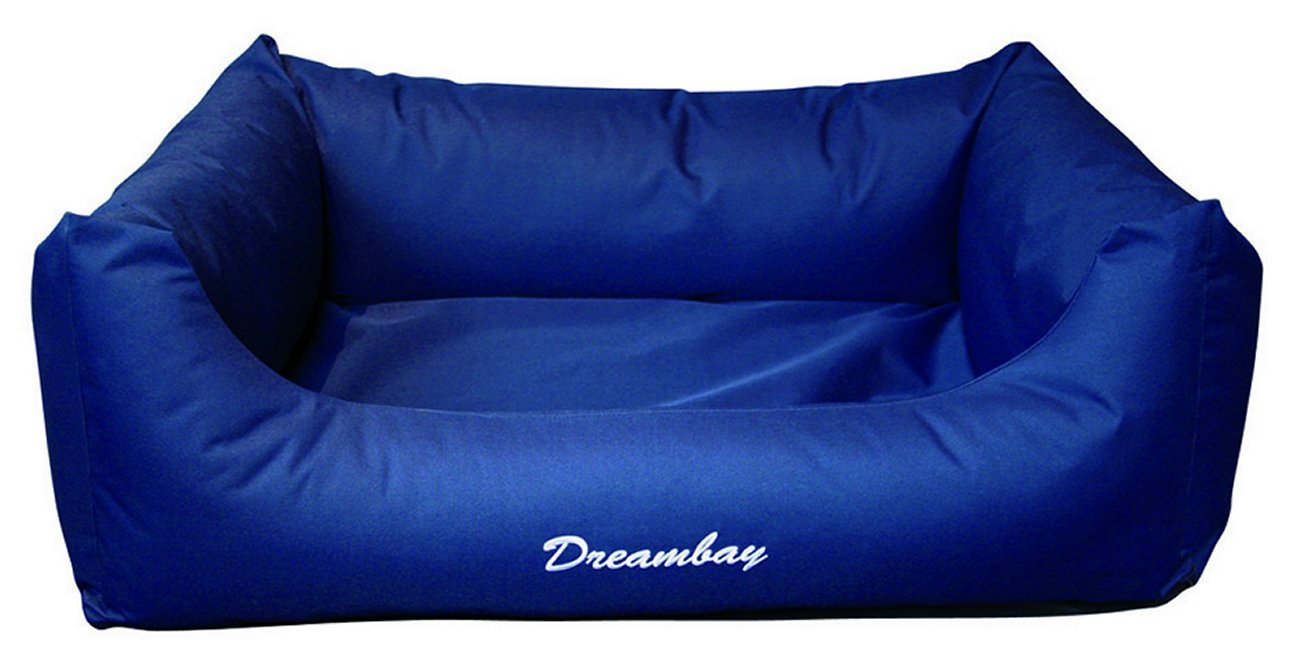 bluee 120 x 95 x 28 cmKarlie Dog Beds Square Dreambay, 80 x 67 x 22 cm, Brown