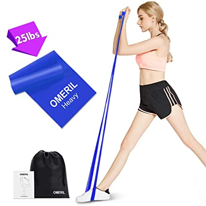Amazon.com : OMERIL Resistance Bands, 100% Latex Exercise ...