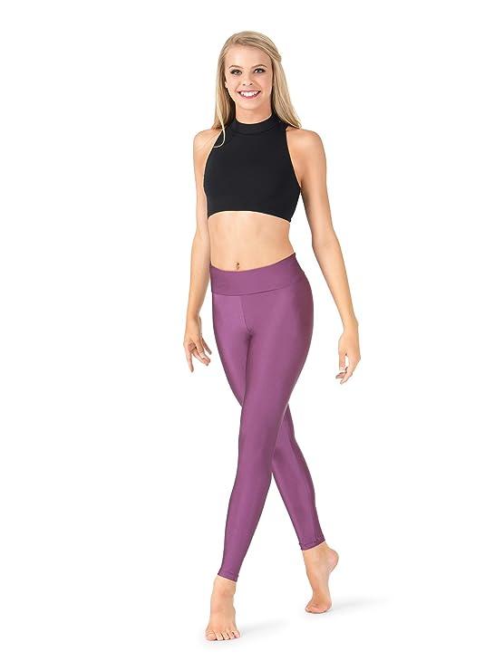 9b61845be Natalie Dancewear Adult High Waist Leggings N8642 at Amazon Women's  Clothing store: Athletic Leggings